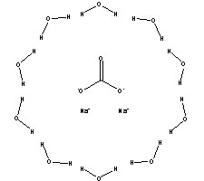 This structure is also  Na2co3 Structure