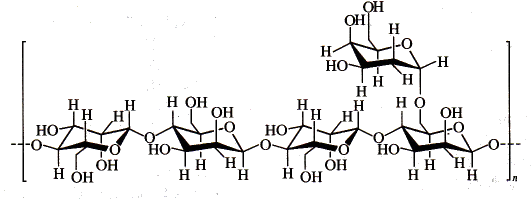 the chemical structure of locust bean gum
