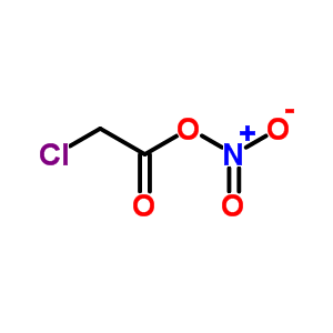 chloroacetyl nitrate C2H2ClNO4 (cas 107616-70-6) Molecular Structure