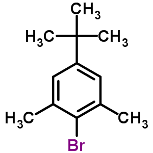2-bromo-5-tert-butyl-1,3-dimethylbenzene 5345-05-1 properties reference