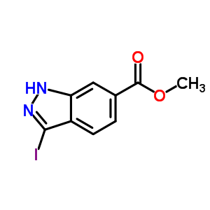 methyl 3-iodo-1H-indazol-6-carboxylate